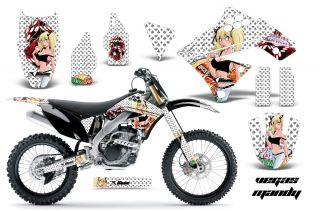 AMR RACING GRAPHIC KIT STICKER DECALS MOTO KAWASAKI KX250F 250 09 12