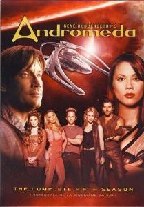 andromeda complete fifth season 5 five dvd new