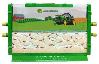 John Deere Ant Farm by Uncle Milton Live Insect Bug Sand Habitat