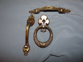 Odd Lot Antique Vtg Cabinet Drawer Pulls Handle Canada