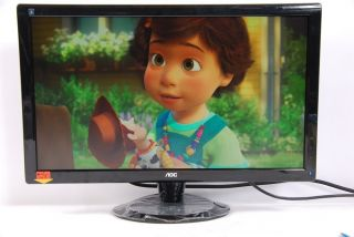 AOC 24 Wide Screen HD Monitor Model 2436V USB TFT24W80PS