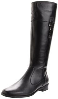 anne klein craslee leather boot 8 5 new
