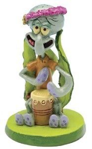 Spongebob Squarepants Aquarium Ornament Mini Squidward