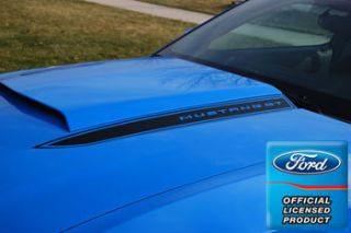 2011 Ford Mustang Hood Spears Stripes Cowl Decals OB