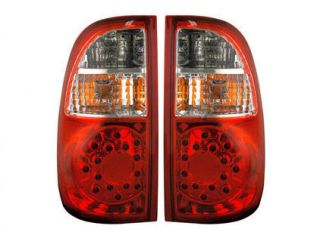 Anzo Euro LED Tail Lights Toyota Tundra 2005 2006