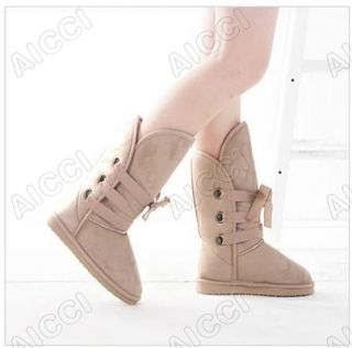 New Arrivals Fashion Womens Girls Warmer Winter Snow Boots Shoes Color