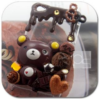 Rilakkuma Deco Hard Skin Case Apple iPod Touch iTouch 4G 4th
