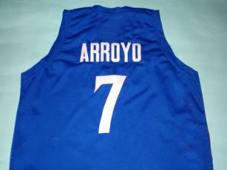CARLOS ARROYO Team Puerto Rico JERSEY SEWN BLUE NEW ANY SIZE