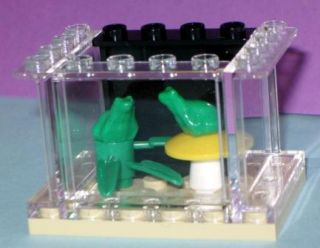 Lego Custom Frog Aquarium Animals Plants Pet Shop Friends Pet Shop