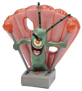 Spongebob Squarepants Aquarium Ornament Mini Plankton