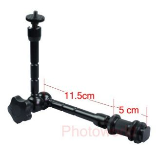 11 Articulating Magic Arm For LCD Monitor / LED light / DSLR