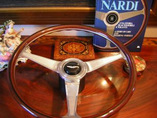 Aston Martin V8 Vantage Nardi Wood Steering Wheel