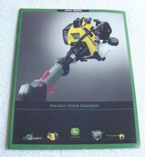 John Deere Portable Power Equipment Brochure