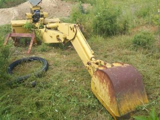 Backhoe Attachment for John Deere 450C Dozer Good Shape Priced Right