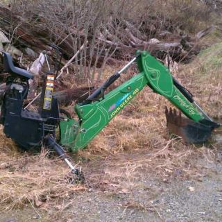 John Deere Model 48 Backhoe Attachment 4 Tractor