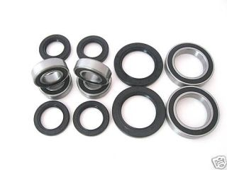 All Wheel and Axle Bearings Seals Kit Yamaha Banshee YFZ350 1989 1990