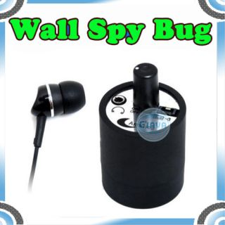 Mini Spy Ear Amplifier Wall Device Audio Listening Bug Wiretap