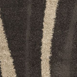 Safavieh Florida Shag Dark Brown Beige Rug