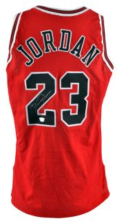 Michael Jordan Signed Authentic Jersey Limited Edition 1 50 Upper Deck