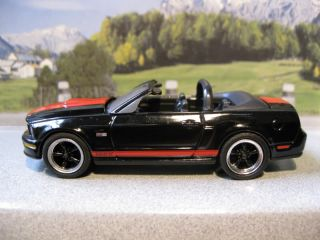 Black 2008 Ford Mustang Shelby GT Convertible 2007 2009