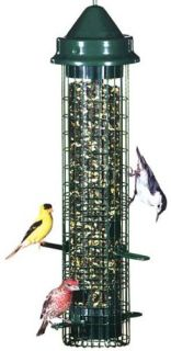 Squirrel Buster Classic Tube Backyard Bird Feeder