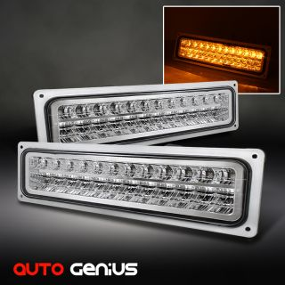 TAHOE SUBURBAN YUKON SIERRA LED PERFORM BUMPER PARKING SIGNAL LIGHTS