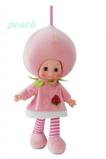 fruit/vegetable doll baby Smart speak music toy handmade clothes