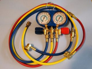 R134a Automotive Air Conditioning Manifold Gauge Set