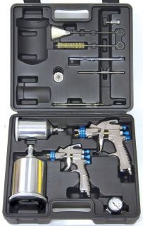 DeVilbiss HVLP Auto Paint Touch Up Spray Gun System