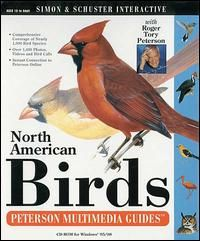 Peterson Multimedia Guides North American Birds PC CD