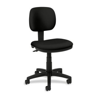 hon basyx vl610 light duty task chair vl610va10 metal black