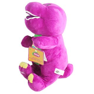 Singing I Love You Barney 15 inch Plush Doll Stuffed Figure for Child