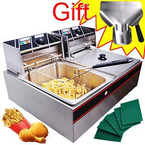 Newly listed NEW COMMERCIAL ELECTRIC DUAL BASKET DEEP FRYER RESTAURANT