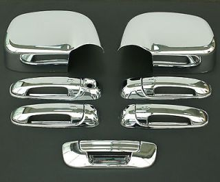 2002  2008 DODGE RAM CHROME DOOR HANDLE MIRROR TAILGATE (Fits Dodge