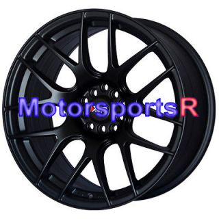 XXR 530 Flat Black Wheels Rims Concave 5x114.3 06 13 Honda Accord EX