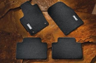 2011 2012 Jeep Grand Cherokee Carpeted Floor Mats, Graystone, Factory