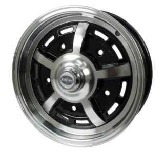 empi sprintstar 5x15 5 lug black wheel vw type 1 2 3  85 95