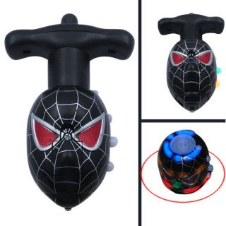 spider man spiderman flash light music spinning top 02 from