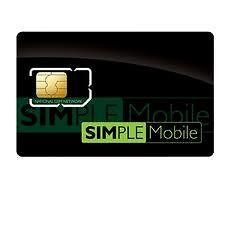 simple mobile micro starter kit sim card lots of 5