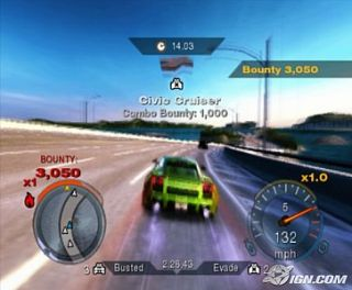 Need for Speed Undercover Sony PlayStation 2, 2008
