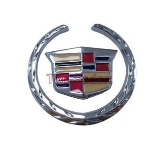 OEM Metal Side Trunk Badge Sticker Emblem Shield 3D For Cadillac XTS