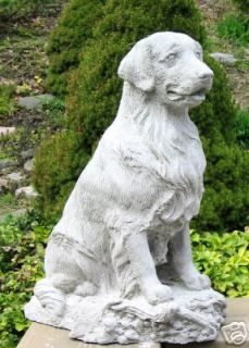 Newly listed CONCRETE GOLDEN RETRIEVER DOG STATUE/ MONUMENT