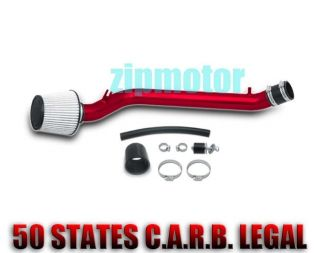 92 95 HONDA CIVIC 93 97 DEL SOL COLD AIR INTAKE KIT RED (Fits More