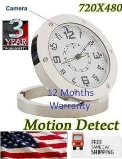 spy covert camera alarm clock nanny cam dvr 720 480 usa sameday