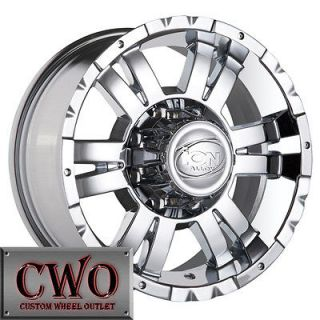 17 Chrome ION 182 Wheels Rims 5x139.7 5 Lug Dodge Ram Dakota Durango