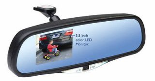 rear view monitor mirror with back up camera time left