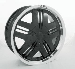 Cabo 101 C101 Black Wheel Center Cap C101 CAP 18/20/22B 18 20 22