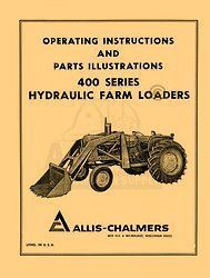 allis chalmers d14 d15 d17 wd45 loader operators manual time