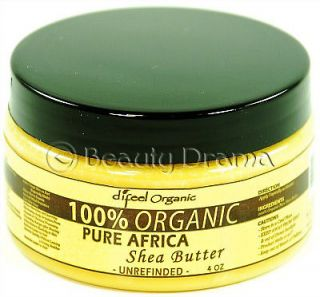 100 % organic pure african shea butter 4oz one day