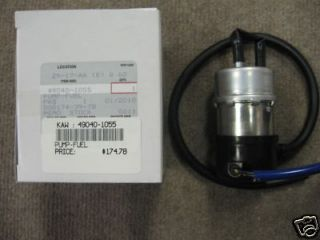 kawasaki mule 3000 3010 new oem genuine fuel pump time